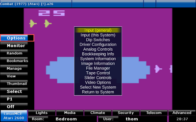 Atari 2600 - LinuxMCE